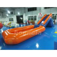Wholesale 0.6mm PVC Tarpaulin Inflatable Water Slide With Pool For Water Park from china suppliers