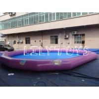 China pink birthday party Kids Inflatable Pools rentals For backyard Inflatables Pool on sale