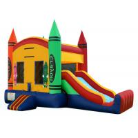 China Inflatable Bounce Castle / Outdoor Inflatable Bouncer Combo EN14960 BV CCC on sale