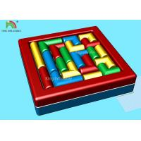 Wholesale Commercial Backyard Toddler Sport Games Inflatable Twister Mattress Combine Building Block from china suppliers