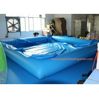 China 0.6MM/0.9MM PVC Swimming Inflatable Water Pool / Air Tight Water Pool With Cover on sale