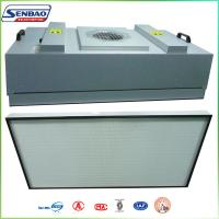 Wholesale High Efficiency HVAC Air Filters , Industial FFU Fan Filter Unit with H13 99.99% from china suppliers