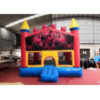 Wholesale Indoor Spiderman Inflatable Bounce House Four Suture Suture Technology from china suppliers