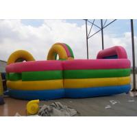 Wholesale Inflatable obstacle course combo with bouncer , Colorful Kids Fun city from china suppliers