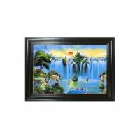 Wholesale Oil Painting Design 3D Lenticular Pictures 0.6mm PET Material 40x60cm Size from china suppliers