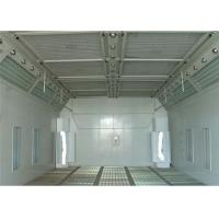Wholesale LED Light 6.9M Waterborne Spray Booth For Cars , Water Based Paint Booth from china suppliers