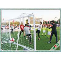 Wholesale Professional 7 / 5 / 3 / 11 Man Aluminium Soccer Goal Long Lifetime from china suppliers