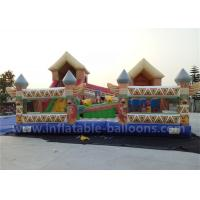 Wholesale 6m x 4m Inflatable Bouncy Castle 0.55mm PVC Tarpaulin Inflatable Bouncer Toy For Kids from china suppliers