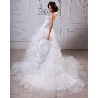 Quality Thick Heart Shaped Strapless Wedding Gowns winter ladies puffy wedding dresses for sale