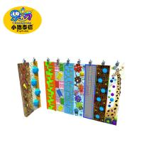 Quality Public Playground Climbing Wall , Indoor Artificial Rock Climbing Wall for sale