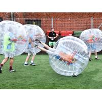 Wholesale 1.5m Bumper Ball Bubble Soccer Ball for football game from china suppliers