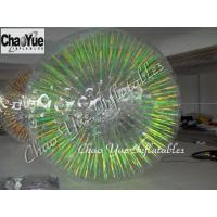 China 2.8x1.8m Shining Inflatable Zorb Ball for amusement park on sale