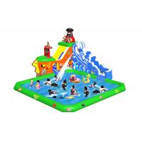 Wholesale Amusement Park Inflatable Slide / Inflatable Water Pool Slide Waterproof from china suppliers