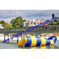 Wholesale Hot Summer Inflatable Water Toys / Aqua Jump Spot With 0.9mm Pvc Tarpaulin from china suppliers