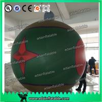 Wholesale Club Event Hanging 1.5m Lighting Decoration Inflatable Ball With Star Printing from china suppliers