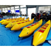 Wholesale Long Rowing Inflatable Banana Boat Water Sport Equipment from china suppliers