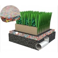 Wholesale SPU Shock Pad 59% Artificial Grass Accessories from china suppliers