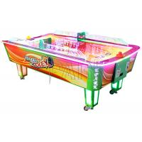 Wholesale Curve Surfuce Air Hockey 2 Players Coin Operated Machine / Ticket Redemption Games from china suppliers