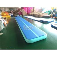 China Outdoor Sports Mats Inflatable Trampoline Tumble Track For Gymnasium OEM ODM on sale
