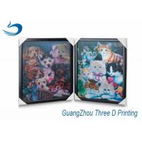 Wholesale Decration 3D Printing Lenticular Flip Effect Cute Cat Changing Images from china suppliers