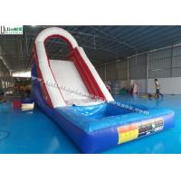Quality Back Load US Commercial Inflatable Water Slides For Kids / Children for sale