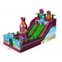 Wholesale Big Inflatable Inflatable Jumping Castle Peppa Pig Theme Full - Digital Printing from china suppliers