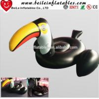 Wholesale Hot sale PVC inflatable water float Largirostrornis inflatable toucan from china suppliers