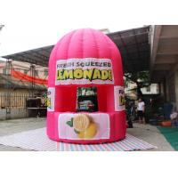 Wholesale Purple Red Advertising Inflatable Tent 4 M Tall Lemonade Store For Event from china suppliers