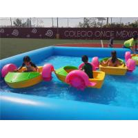 Wholesale Strength Water Bumper Boats , Kids Hand Paddle Boat Ce Certificated from china suppliers