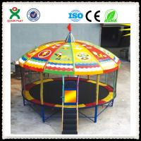 Wholesale Kids Round Trampoline for Amusement Park Entertainment Projects from china suppliers