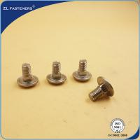 Buy cheap High Strength Stainless Steel Carriage Bolts DIN 603 Natural Color from wholesalers