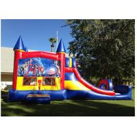 Wholesale Commercial Inflatable Jumping Castle / Portable Bounce House And Slide from china suppliers