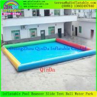 Wholesale Adult Large Inflatable Swimming Pool  0.9mm Pvc Tarpaulin For Roller Balls And Water Toys from china suppliers
