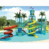 Wholesale Water Park Equiptment, Made of FRP and Flange, Customized Colors are Welcome from china suppliers