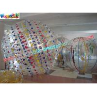 China Kids funny games, inflatable Land zorb human hamster ball for snowfield on sale