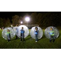 Buy cheap Half Color Tpu Inflatable Human Sized Bubble Soccer Ball With Detachable Strap from wholesalers