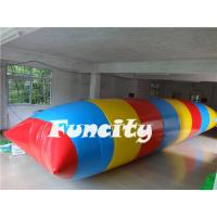 China Customized Inflatable Water Toys , Water Diving Tower,Inflatable Water Blob on sale