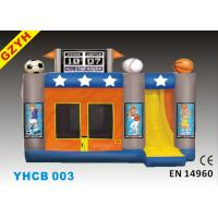 Wholesale 0.55mm PVC Tarpaulin Commercial Inflatable Combo Bouncers YHCB-003 with SGS EN71 from china suppliers