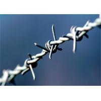 Wholesale Heavy Duty Barbed Wire Fence Galvanized Iron 4 Point 3'' For Farm Guard from china suppliers