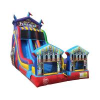 Wholesale Carnival Double Lanes Inflatable Water Slide Digital Printing Multi Color from china suppliers