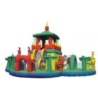Wholesale Waterproof Inflatable Bouncy Castle Happy Paradise for Amusement Parks from china suppliers