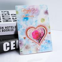Wholesale Love Heart Shaped 3D Lenticular Greeting Card Valentine'S Gift 12x17cm Fold Size from china suppliers