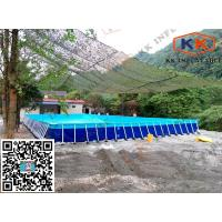 China Square Inflatable Swimming Paddling Pool , inflatable above ground pools on sale