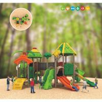 Buy cheap childrens plastic playground plastic outdoor playsets for kids from wholesalers