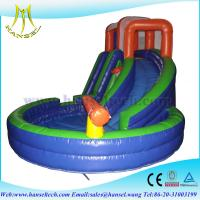 China Hansel cheap popular commercial inflatable slides for sale on sale