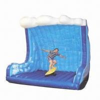 Wholesale Inflatable Surfing Simulator, Made of 0.55mm PVC Tarpaulin from china suppliers