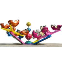 Wholesale Custom Amusement Park Thrill Rides , 360 Degree Crazy Dance Ride from china suppliers