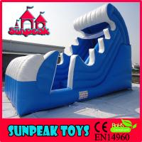 Wholesale WL-1830 Curve Snow Inflatable Pool Water Slide from china suppliers
