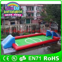 Wholesale CE Fun new air tight water football game  Inflatable water soccer from china suppliers