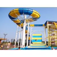 Wholesale Giant Boomerang Water Slide For Family / Outdoor Water Park Equipment from china suppliers
